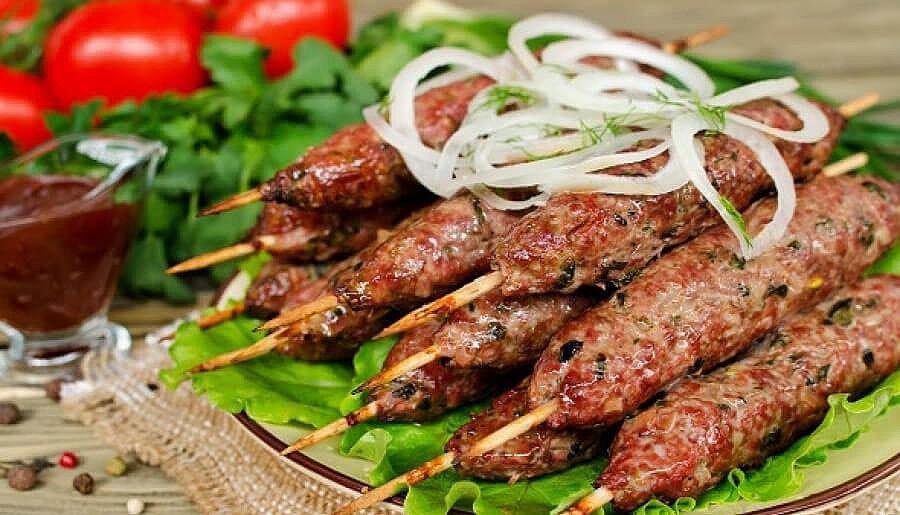 Рецепт люля кебаб из баранины