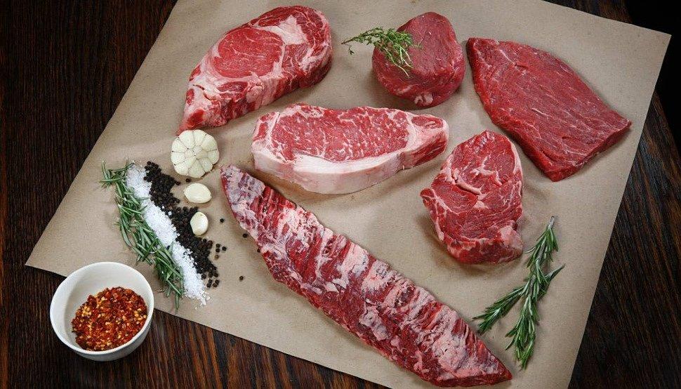 Какие бывают виды стейков из говядины?