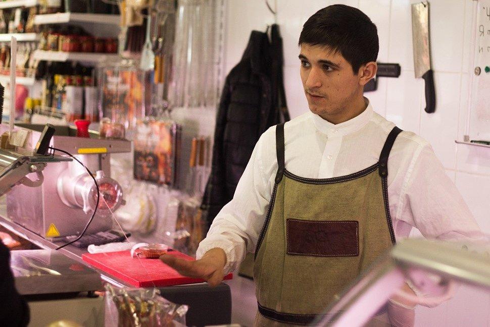 Где купить мясо в Крыму - Мясной бутик Алем. Лопатка на кости